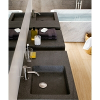Neutra - Square washbasins